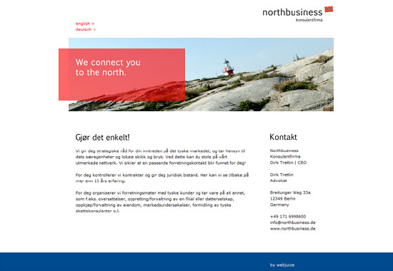Website Northbusiness