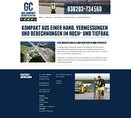 Website Reinigungsservice RE